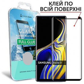 Защитное стекло MakeFuture 3D Full Glue Samsung Note 9 Black (MG3DFG-SN9)