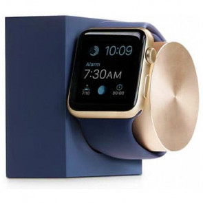 Док-станция Native Union Dock for Apple Watch Midnight Blue/Gold (DOCK-AW-SL-MAR)