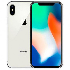 iPhone X 256GB Silver (MQAG2)