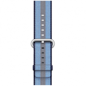 Ремешок Apple Watch 42mm Midnight Blue Stripe Woven Nylon (MQVU2)