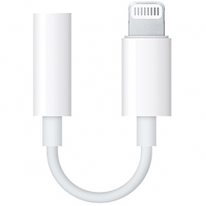 Переходник Apple Lightning to 3.5 mm Headphone Jack Adapter (MMX62)