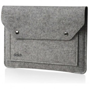 Чехол-папка DAKH for MacBook Pro 15'' Gray (WLB-LC-Pro15l-170)