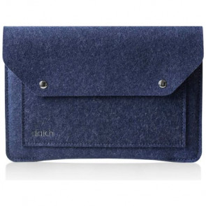 Чехол-папка DAKH for MacBook Air 13'' Blue Melange (WLB-LC-Air13l-533)