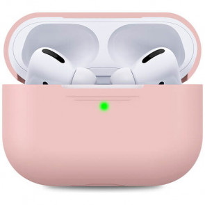 Чехол для наушников AhaStyle Silicone Case for Apple AirPods Pro Pink (AHA-0P300-PNK)