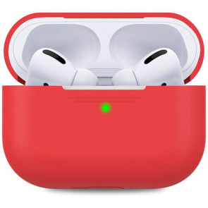 Чехол для наушников AhaStyle Silicone Case for Apple AirPods Pro Red (AHA-0P300-RED)