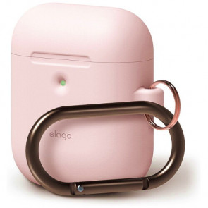 Чехол для наушников Elago A2 Hang Case Lovely Pink for Airpods with Wireless Charging Case (EAP2SC-HANG-PK)