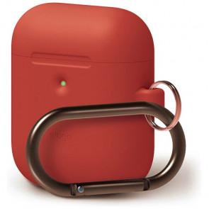 Чехол для наушников Elago A2 Hang Case Red for Airpods with Wireless Charging Case (EAP2SC-HANG-RD)