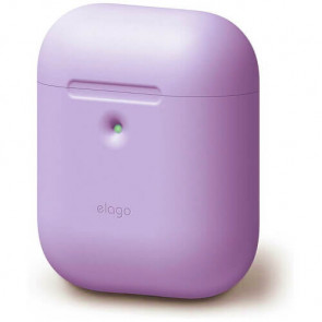 Чехол для наушников Elago A2 Silicone Case Lavender for Airpods with Wireless Charging Case (EAP2SC-LV)