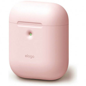 Чехол для наушников Elago A2 Silicone Case Lovely Pink for Airpods with Wireless Charging Case (EAP2SC-PK)