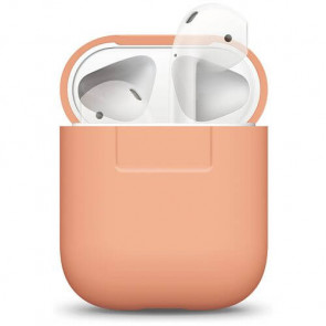 Чехол для наушников Elago Silicone Case Peach for Airpods (EAPSC-PE)