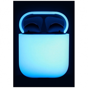 Чехол для наушников Elago Silicone Case for Airpods Nightglow Blue (EAPSC-LUBL)