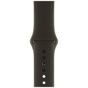 Ремешок Apple Watch 40mm Black Sport Band (MTP62)