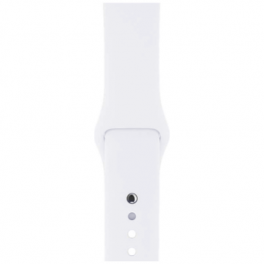 Ремешок Apple Watch 42mm White Sport Band (MJ4M2)