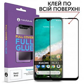 Защитное стекло MakeFuture Full Cover Full Glue Xiaomi Mi A3 (MGF-XMA3)