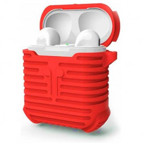 Чехол для наушников COTEetCI Airpods Case+line Red (CS8108-RD)