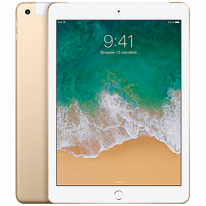 iPad Wi-Fi + Cellular 128GB Gold (MPG52)