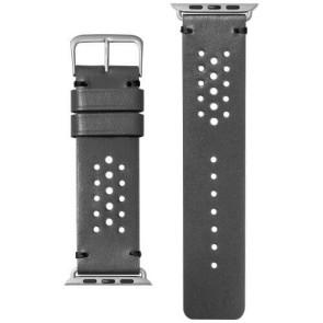 Ремешок Laut HERITAGE for Apple Watch 42/44 mm Slate Gray (LAUT_AWL_HE_GY)