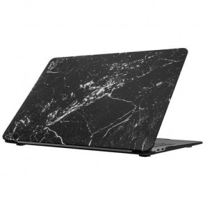 Чехол-накладка LAUT HUEX ELEMENTS for MacBook Air 13'' 2018 Marble Black (LAUT_13MA18_HXE_MB)