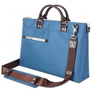 Сумка Moshi Urbana Slim Laptop Briefcase Blue (99MO078511)
