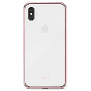 Чехол-накладка Moshi Vitros Slim Stylish Protection Case Orchid Pink for iPhone XS/X (99MO103251)