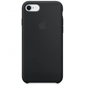 Чехол-накладка Apple iPhone 8 Silicone Case Black (MQGK2)