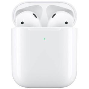Фото Apple AirPods 2019 (2 поколения) с возможностью беспроводной зарядки (MRXJ2) спереди