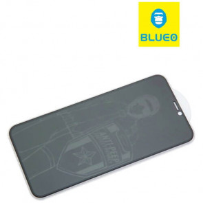Защитное стекло Blueo Full Anti-peep Anti-dust Series for iPhone 11/XR Front Black (анти-шпион)