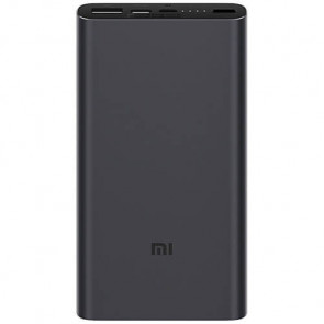 Внешний аккумулятор Xiaomi Mi Power Bank 3 10000 mAh (USB+Type-C) PLM12ZM Black (VXN4253CN/VXN4274GL)