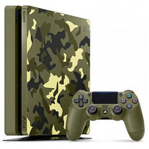 Игровая приставка Sony PlayStation 4 Slim (PS4 Slim) 1TB + Call of Duty: WWII Limited Edition