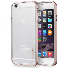 Чехол-бампер LAUT EXO-FRAME for iPhone 6 rose gold (LAUT_IP6_EX_RG)
