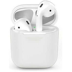 Чехол для наушников AhaStyle Silicone Case for AirPods Clear Matte/Night Glow (X001EWOP8H)