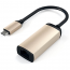 Адаптер Satechi Type-C Ethernet Adapter Gold (ST-TCENG)