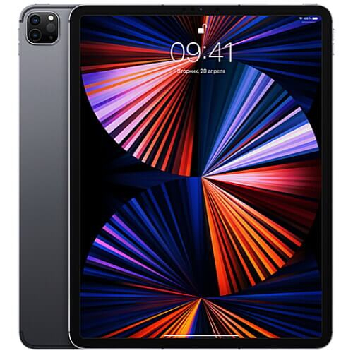 iPad Pro 12.9'' Wi-Fi + Cellular 256GB Space Gray (MHR63 ...