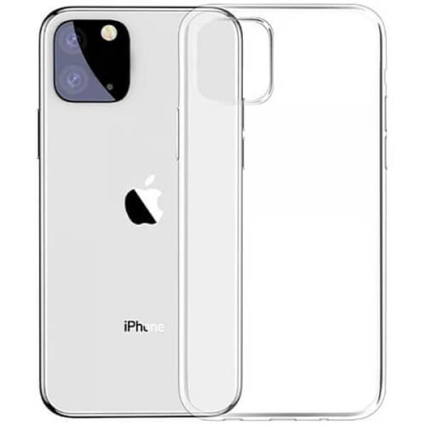 Чохол-накладка Baseus Simple Series Case For iPhone 11 Transparent (ARAPIPH61S-02)