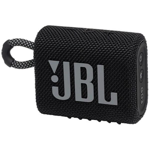 Портативна акустика JBL GO 3 Black (JBLGO3BLK)