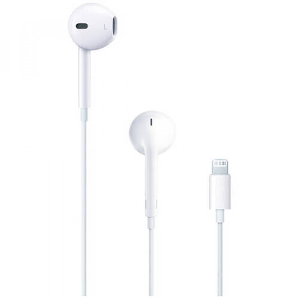 Навушники Apple EarPods with Lightning Connector (MMTN2)