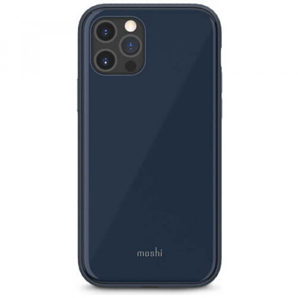 Чохол-накладка Moshi iGlaze Slim Hardshell Case Slate Blue for iPhone 12 Pro Max (99MO113533)