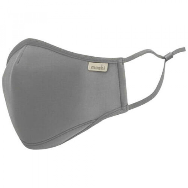 Маска Moshi OmniGuard Mask Space Gray (S) (Replaceable Nanohedron Filters 3 pcs) (99MO126013)