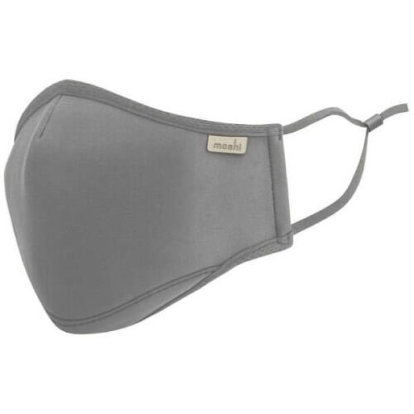 Маска Moshi OmniGuard Mask Space Gray (M) (Replaceable Nanohedron Filters 3 pcs) (99MO126012)