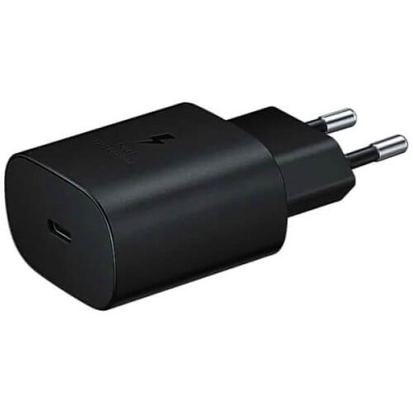 Мережевий зарядний пристрій Samsung 25W Travel Adapter (w/o cable) Black (EP-TA800NBEGRU)