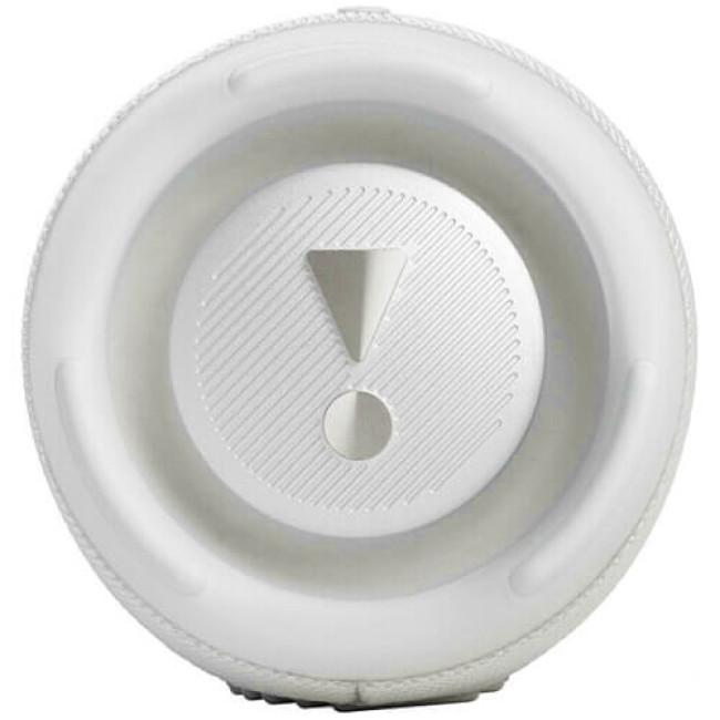 Портативна акустика JBL Charge 5 White (JBLCHARGE5WHT)