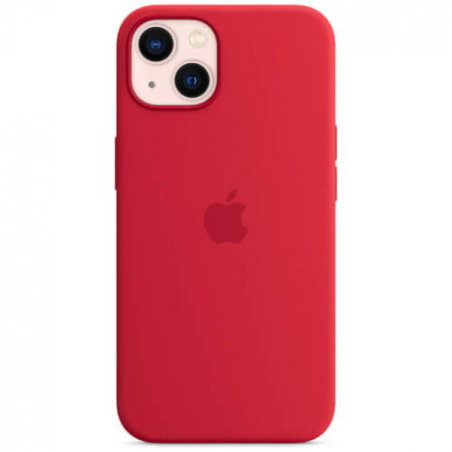 Чохол-накладка Apple iPhone 13 Mini Silicone Case (PRODUCT) RED