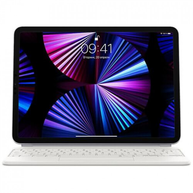Чохол-клавіатура Apple Magic Keyboard for iPad Pro 11'' (2020/2018)/Air 4 (2020) White (MJQJ3)
