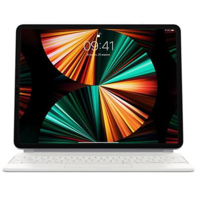 Чохол-клавіатура Apple Magic Keyboard for iPad Pro 12.9'' M1 2021/2020/2018 White (MJQL3)