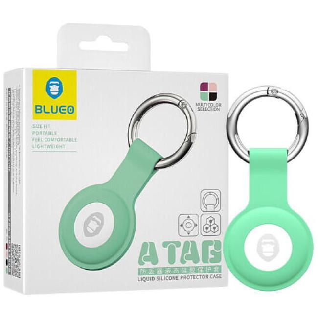 Аксесуар Blueo AirTag Antilost Liquid Silicone Protector Green (BLATGGRN)