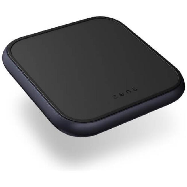 Бездротовий зарядний пристрій Zens Single Aluminium Wireless Charger Black with USB-C 18W PD Wall Charger (ZESC14B/00)