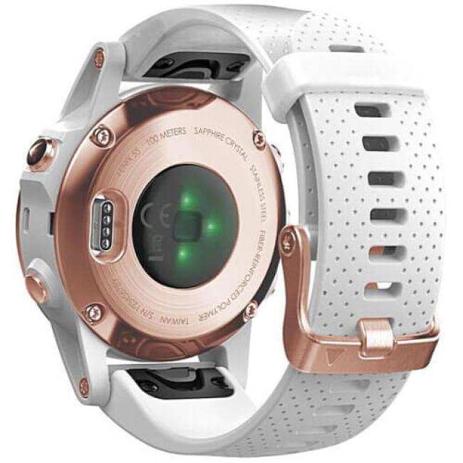 Смарт-годинник Garmin Fenix 5S Rose Gold-tone Sapphire (010-01685-16) ГАРАНТІЯ 3 міс.