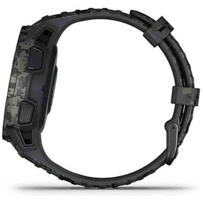 Смарт-годинник Garmin Instinct Solar Graphite Camo (010-02293-15) ГАРАНТІЯ 3 міс.