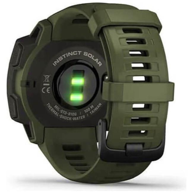 Смарт-годинник Garmin Instinct Solar Tactical Edition Moss (010-02293-04) ГАРАНТІЯ 3 міс.