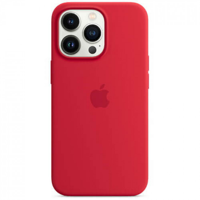 Чохол-накладка Apple iPhone 13 Pro Max Silicone Case (PRODUCT) RED